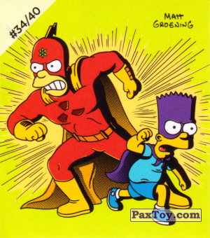 PaxToy.com - #34 / 40 Radioactive Man and Bartman из Cheetos: The Simpsons Bartman