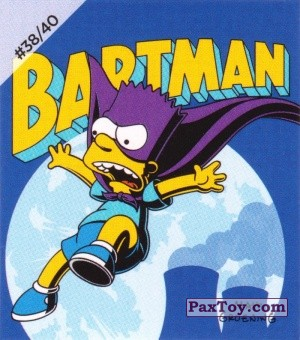 PaxToy.com - #38 / 40 Bartman из Cheetos: The Simpsons Bartman