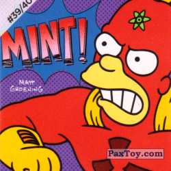 PaxToy #39 of 40 Radioactive Man   Mint!