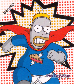 PaxToy.com - #40 / 40 Pieman из Cheetos: The Simpsons Bartman