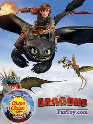 PaxToy Choco Balls   2017 Драконы logo tax