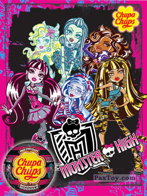 PaxToy Choco Balls    Monster High logo tax