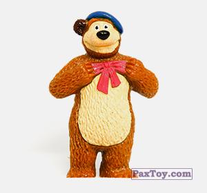 PaxToy.com - 01 Мишель Шишкин из Choco Balls: Маша и Медведь 2 - Маша Художница