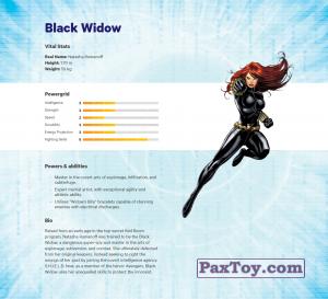 PaxToy.com - 02 Black Widow (Сторна-back) из Z Energy: Marvel Avengers (Blokhedz)