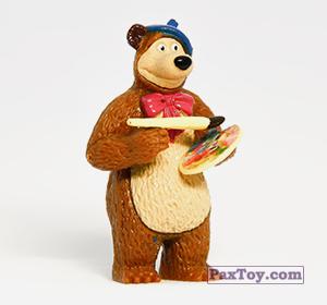 PaxToy.com - 02 Лесной художник из Choco Balls: Маша и Медведь 2 - Маша Художница