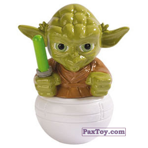 PaxToy.com - 02 Yoda из Esselunga: Star Wars 2.0 - Rollinz 2018