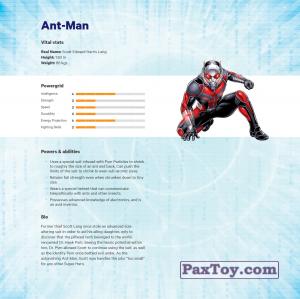PaxToy.com - 03 Ant-Man (Сторна-back) из Z Energy: Marvel Avengers (Blokhedz)