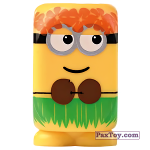 PaxToy.com - 03 Jerry Hawaii из Esselunga: Despicable Me (Blokhedz)