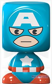 PaxToy.com - 04 Captain America из Z Energy: Marvel Avengers (Blokhedz)