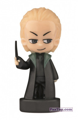 PaxToy.com - 04 Draco Malfoy (Сторна-back) из Esselunga: Harry Potter WIZZIS