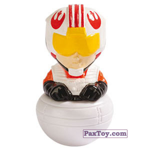 PaxToy.com - 04 Luke Pilota X-Wings из Esselunga: Star Wars 2.0 - Rollinz 2018