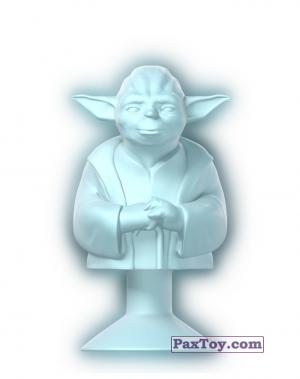 PaxToy.com - 04 Yoda Holo из Lidl: Star Wars Stikeez
