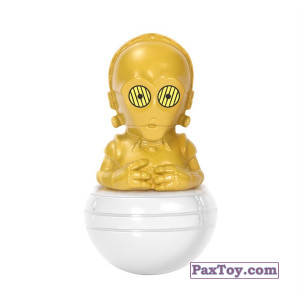 PaxToy.com - 05 C-3PO из Esselunga: Star Wars 1.0 - Rollinz 2016
