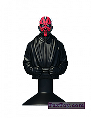 PaxToy.com - 05 DARTH MAUL из Mega Image: Star Wars Stikeez Disney