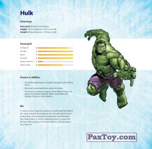 PaxToy.com - 05 Hulk (Сторна-back) из Z Energy: Marvel Avengers (Blokhedz)