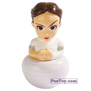 PaxToy.com - 05 Padme Amidala из Esselunga: Star Wars 2.0 - Rollinz 2018