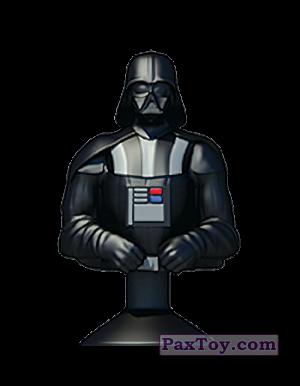 PaxToy.com - 06 DARTH VADER из Mega Image: Star Wars Stikeez Disney