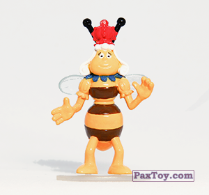 PaxToy.com - 07 Королева пчёл из Choco Balls: Пчелка Майя