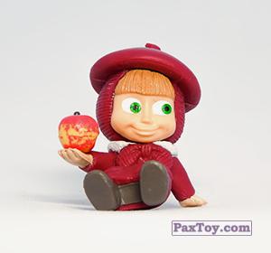 PaxToy.com - 07 Маша и яблоко из Choco Balls: Маша и Медведь 2 - Маша Художница