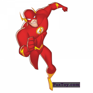 PaxToy.com - 07 The Flash (Сторна-back) из
