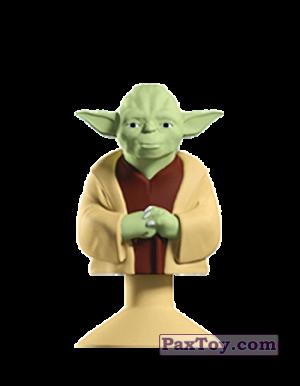 PaxToy.com - 07 YODA из Mega Image: Star Wars Stikeez Disney