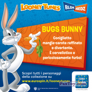 PaxToy.com - 01 Bugs (Сторна-back) из EuroSpin: Looney Tunes (Blokhedz)
