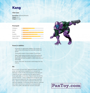 PaxToy.com - 08 Kang (Сторна-back) из Z Energy: Marvel Avengers (Blokhedz)