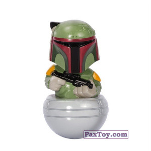 PaxToy.com - 09 Boba Fett из Esselunga: Star Wars 1.0 - Rollinz 2016