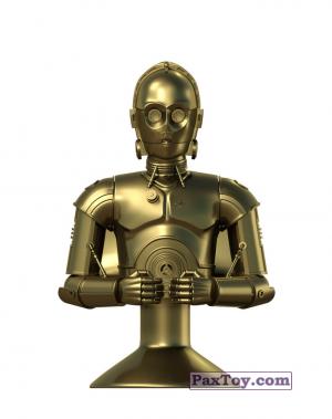 PaxToy.com - 10 C-3PO из Lidl: Star Wars Stikeez