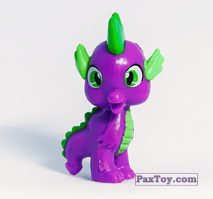 PaxToy.com - 10 Дракон Спайк из Choco Balls: My Little Pony