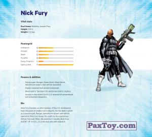 PaxToy.com - 10 Nick Fury (Сторна-back) из Z Energy: Marvel Avengers (Blokhedz)
