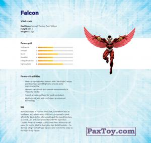 PaxToy.com - 11 Falcon (Сторна-back) из Z Energy: Marvel Avengers (Blokhedz)