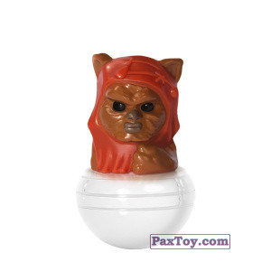PaxToy.com - 12 Ewok из Esselunga: Star Wars 1.0 - Rollinz 2016