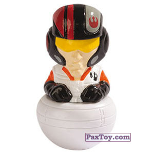PaxToy.com - 12 Poe Dameron из Esselunga: Star Wars 2.0 - Rollinz 2018