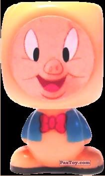 PaxToy.com  Blokhedz, Игровая еденица, Фигурка 12 Porky Pig из EuroSpin: Looney Tunes (Blokhedz)