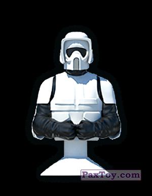 PaxToy.com - 12 TROOPER CERCETAS из Mega Image: Star Wars Stikeez Disney