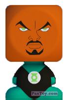 PaxToy.com - 12 Žaliasis Žibintas (Green Lantern) из Norfa: Superherojai (Blokhedz)