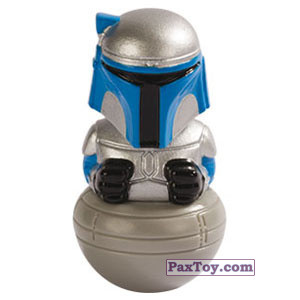PaxToy.com - 15 Jango Fett из Esselunga: Star Wars 2.0 - Rollinz 2018