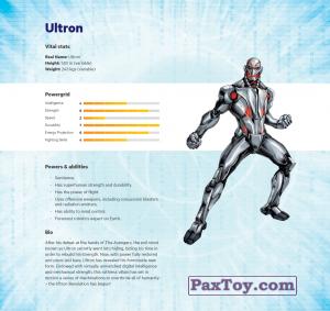 PaxToy.com - 16 Ultron (Сторна-back) из Z Energy: Marvel Avengers (Blokhedz)