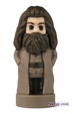 PaxToy.com - 17 Rubeus Hagrid (Сторна-back) из Esselunga: Harry Potter WIZZIS