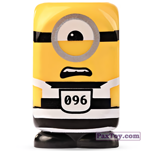 PaxToy.com - 17 Stuart Carcerato из Esselunga: Despicable Me (Blokhedz)