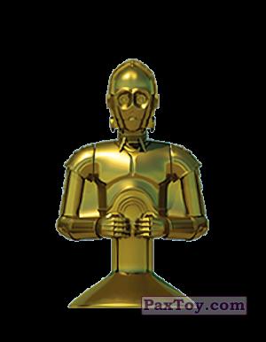 PaxToy.com - 18 C-3PO из Mega Image: Star Wars Stikeez Disney