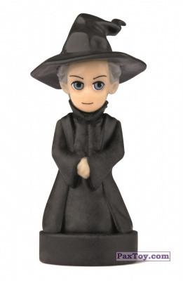 PaxToy.com - 18 Minerva Mcgranitt (Сторна-back) из Esselunga: Harry Potter WIZZIS