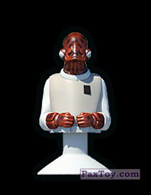 PaxToy.com - 19 AMIRALUL ACKBAR из Mega Image: Star Wars Stikeez Disney