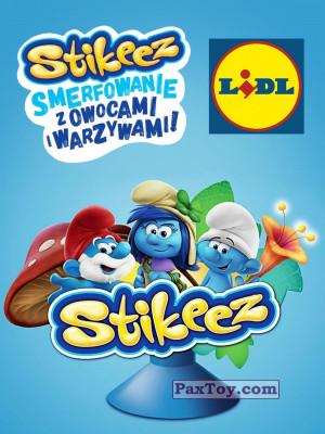 PaxToy Lidl: Smerfy Stikeez (Smurfs)