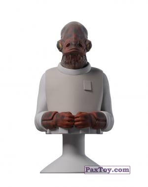 PaxToy.com - Stikeez 22 Admiral Ackbar из Lidl: Star Wars Stikeez