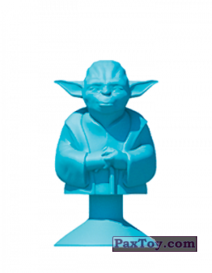 PaxToy.com - 25 YODA (SPIRIT JEDI) из Mega Image: Star Wars Stikeez Disney