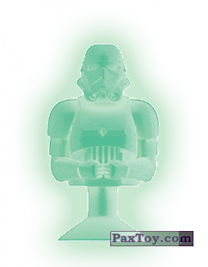 PaxToy.com - 26 STORM TROOPER (HOLOGRAMA) из Mega Image: Star Wars Stikeez Disney