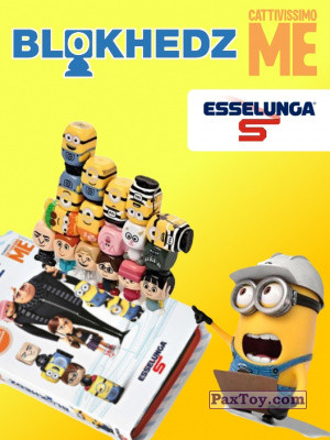 PaxToy Esselunga: Despicable Me (Blokhedz)