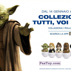 PaxToy Esselunga (Italy)   2016 Star Wars 1.0   01 collezionarli tutti